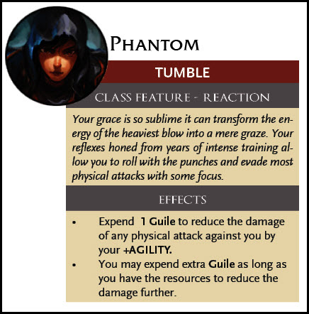 Phantom Tumble